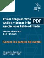 Agenda de Paneles del Congreso APP