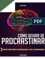 Guia Digital - Como deixar de Procrastinar