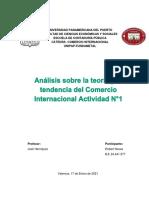 Comercio Internacional activ. 1, corte 2