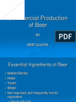 Commercial Production of Beer