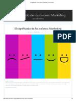 El Significado de Los Colores_ Marketing - Art Creativa