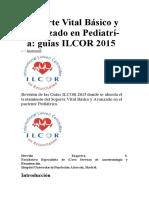 Soporte Vital Básico y Avanzado en Pediatrí