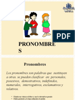 Pronombre 2do Sec