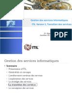 ITIL Transition des services