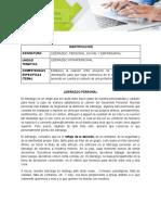 GUIA No.1 DE ESTUDIO LIDERAZGO INTRAPERSONAL