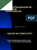 CONCEPTUALIZACION DE VIOLENCIA INTRAFAMILIAR
