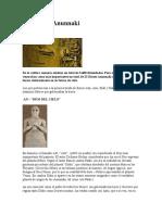 Antigua Sumeria y  Dioses Anunnaki