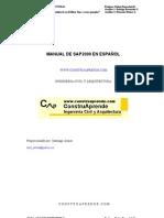 manual de sap 2000 - calculo de estructuras