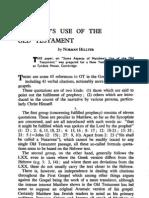 Matthews Use OT 1964-1 (Rev. Norman Hillyer)
