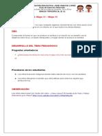 C. GRADO TERCERO (3°) Guía 2. Ciencias Naturales