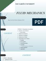 Mecánica de Fluidos - 2021 - 1 - DIB