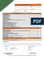 RT-CL-57Rev.1 Check List Cargador Frontal
