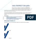 Excel Fonction Indirect+