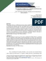 PSICOLOGIA DA ARTE E POLÍTICAS PÚBLICAS