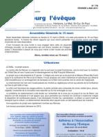 176 journal de bourg l'eveque - Rennes