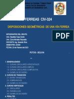 GEOMETRIA DE DE VIAS FERREAS