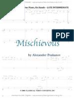 Mischievous Piano Trio 1 Piano 6 Hands