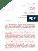 Cerere de validarea a crean'elor_ creditor GARANTAT