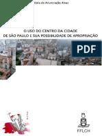 O uso do centro da cidade de SP e sua possibilidade de apropriação