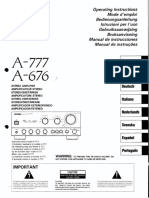 Pioneer-A676-A777-Owners-Manual