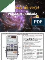 Résumé de cours de Physique-Chimie_SM  PC et SVT