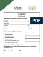 Ficha de Sintomatología COVID-19