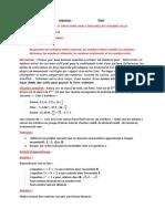 Cours maths 2ndeA