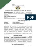 Fallo que suspende líquidación de la EPS AMBUQ