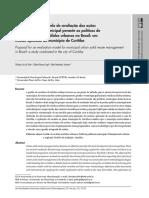 Proposta de Um Modelo de Avaliação Das Ações - Curitiba