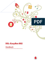 Bedienungsanleitung   EASY BOX 802