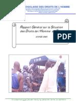 LTDH: Rapport Général sur la Situation des Droits de l'Homme au Togo 2010