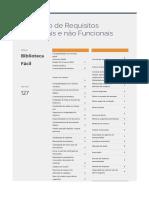 Av. de Requisitos Funcionais e não Funcionais