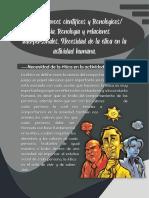 Ética, avances científicos y tecnológicos ciencia, tecnología y relaciones interpersonales Necesidad de la ética en la actividad humana