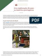 A lucrativa exploração do pau-brasil na América portuguesa