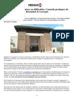 Covid-19 et entreprises en difficultés_ Conseils pratiques de Bassamat & Laraqui