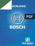 Catálogo Bosch - Rildon Eletropeças