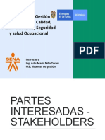 partes interesadas