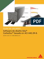 Manual Software Sika Carbodur Aci440