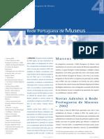 Boletim RPM n o 4 Os Museus Da Rede Regi