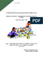 Optional Curiozitati Matematice-1