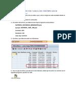 Manual Proceso de Carga de Certificados