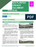 F10 Filtres Plantes de Roseaux a Ecoulement Vertical
