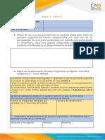 Anexo 1 - Tarea 2 - Matriz de caracterización Procesos Cognoscitivos Basicos