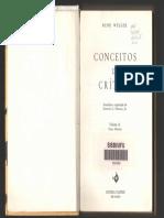 WELLEK_Conceitos de crítica_cap. 1 e 2