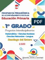 1º Grado Cartilla Pedagogica Final