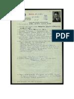 Aníbal Cavaco SIlva - Inscrição na Pide/DGS.