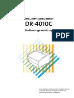 Canon DR-4010C-handbuch