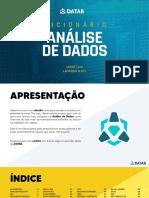 Dicionario Da Analise de Dados