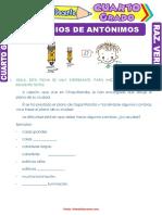 Ejercicios-de-Antónimos-para-Cuarto-Grado-de-Primaria