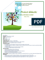 XProiect didactic